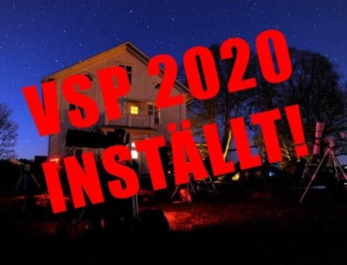 INSTÄLLT – Värmland Star Party 2020